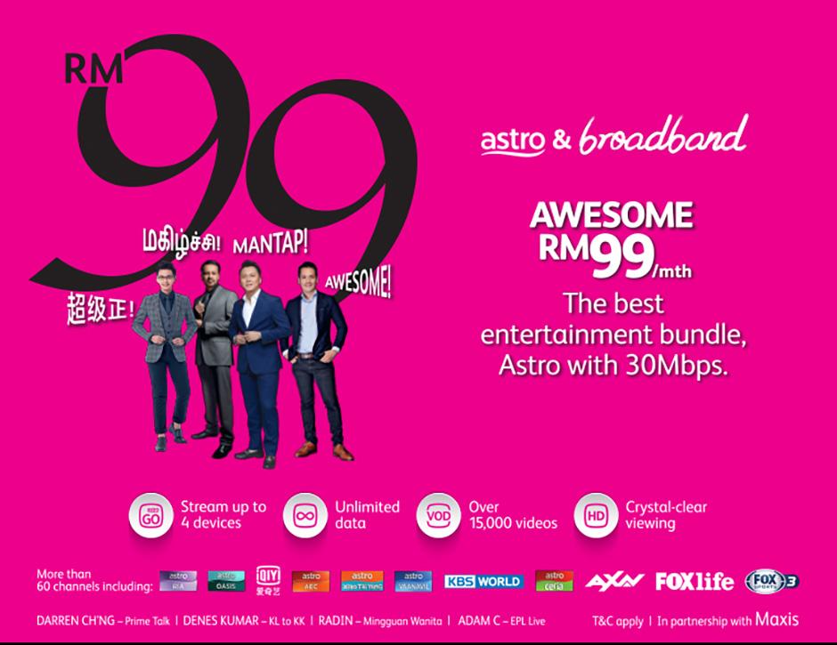 Go Shop X Astro Broadband Go Shop
